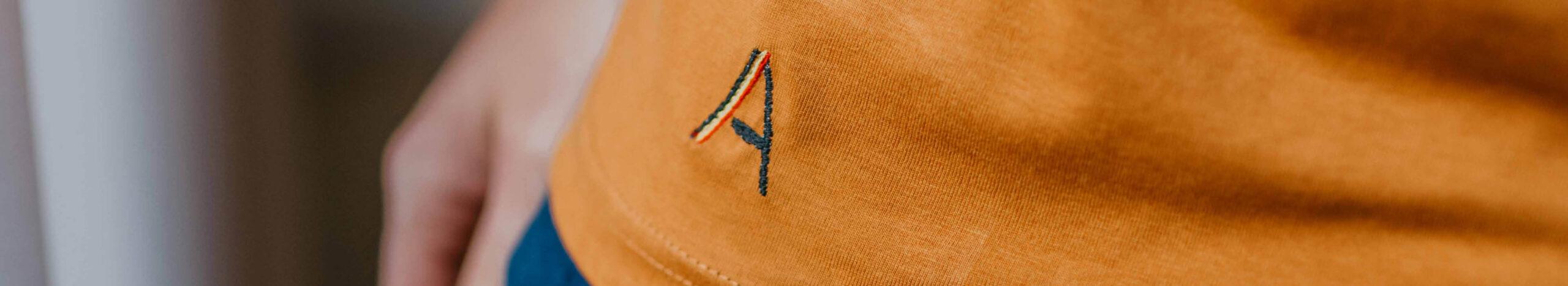 Anonymous Albert Logo op T-shirt